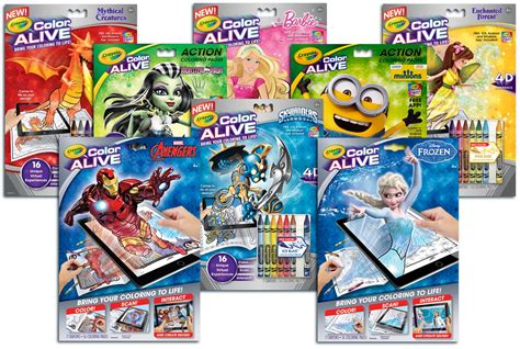 color alive crayola color alive interactive coloring pages crayola