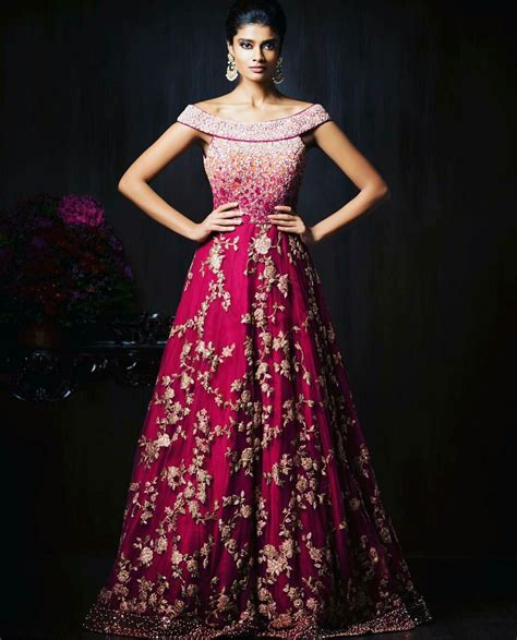 Wedding Wear Gowns by Gorgeous New Indian Reception Gown Styles For Indian Brides