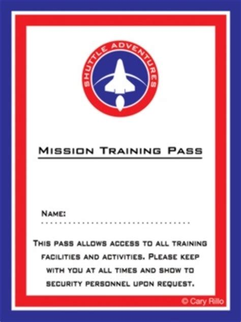 nasa id card template kindergarten 17 best images about vbs space on jet packs