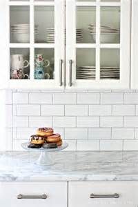 subway tile backsplash ideas for the kitchen best 25 subway tile backsplash ideas on