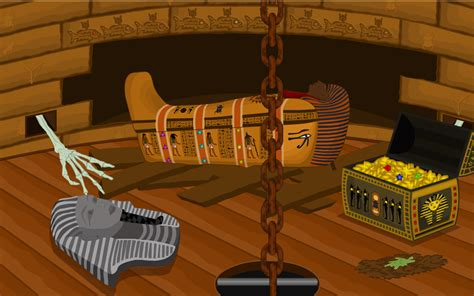 escape game egyptian rooms