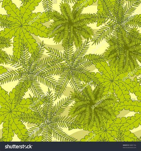 abstract pattern landscape palm tree seamless abstract pattern with stylized