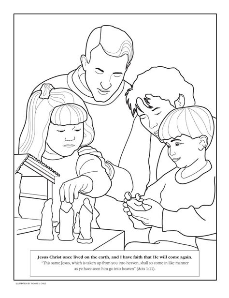 Lds Friend Coloring Pages coloring pictures obedience and the coloring pages