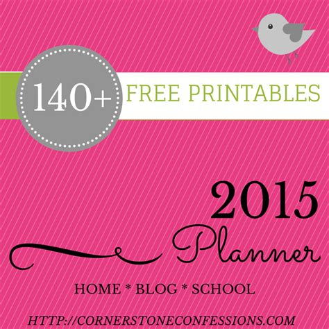 printable day planner for 2015 8 best images of free homemaking printable planner free
