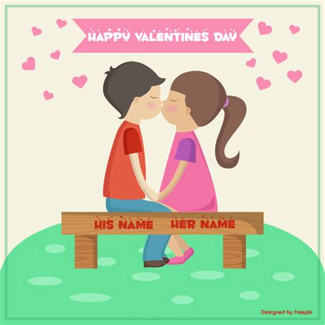 other names for valentines day write name on happy day greeting card