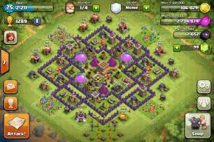 Best clash of clans town hall 8 trophy base