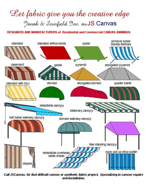awning style awnings canopies js canvas awnings of sacramento