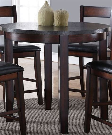 42 Height Dining Table Rockport Brown 42 Quot Counter Height Dining Table Zrpt 8090 Legends Furniture