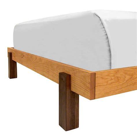 platform beds made in usa modern platform bed in solid hardwood with finish