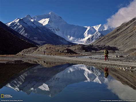 tibetan mountain mountain reflection picture tibet wallpaper national geographic photo of the day