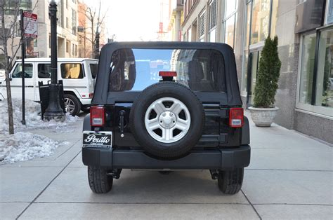 Chicagoland Jeep Dealers 2015 Jeep Wrangler Sport Stock 04503 For Sale Near