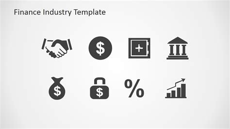 Finance Industry Clipart for PowerPoint   SlideModel
