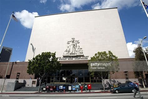 los angeles court house exteriors of the los angeles superior court getty images
