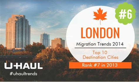 Canadian Destination No. 6: London Takes a Step Forward