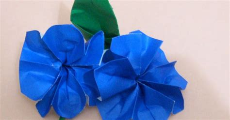 Origami Buttonhole Flower - origami traditional buttonhole flower