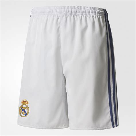 Shorts Go Real Madrid Home 1 real madrid home replica shorts