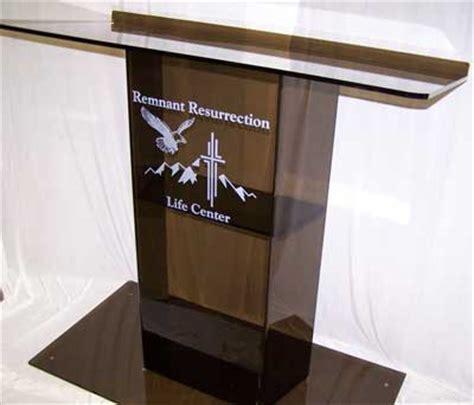 custom church podiums