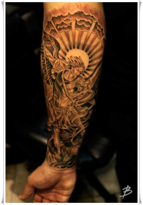 saint tattoo designs 30 st michael design ideas
