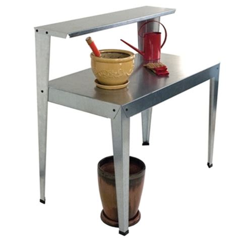 potting bench accessories galvanized potting bench hg2000 free shipping