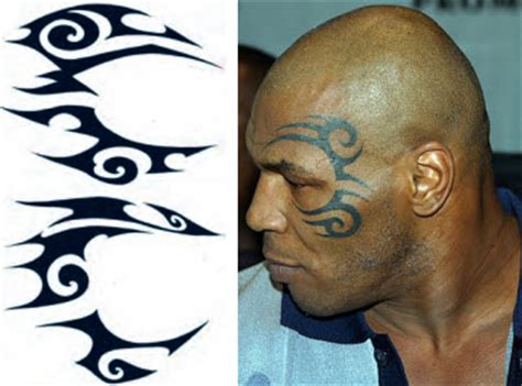 mike tyson tattoo design images designs
