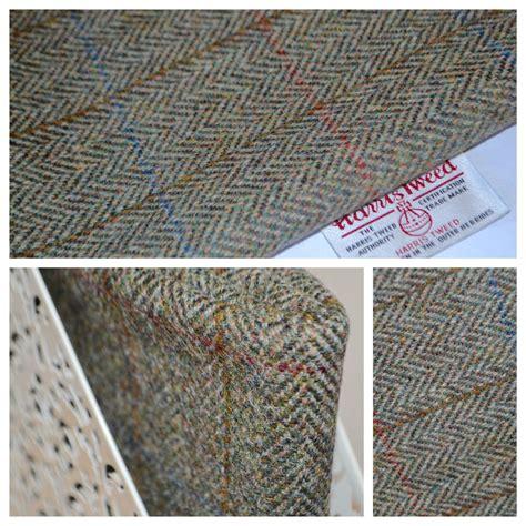 Harris Tweed Fabric Labels Traditional Herringbone Craft