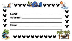 bag tag template word disney luggage tags page 1 of 3 and print po