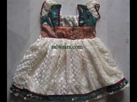 Types Of House Designs 50 diffrent pattern kids banarasi netted designer frocks