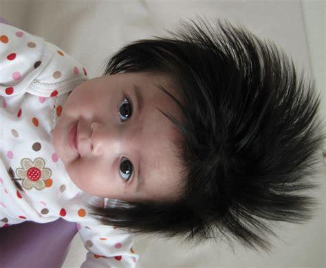 hair stiking cute baby arlene pellicane christian speaker and author