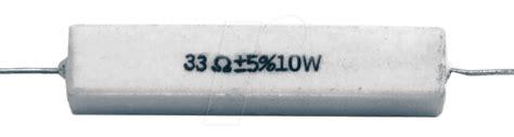 ceramic resistor crossover vis 10w 1 0 visaton ceramic resistor at reichelt elektronik
