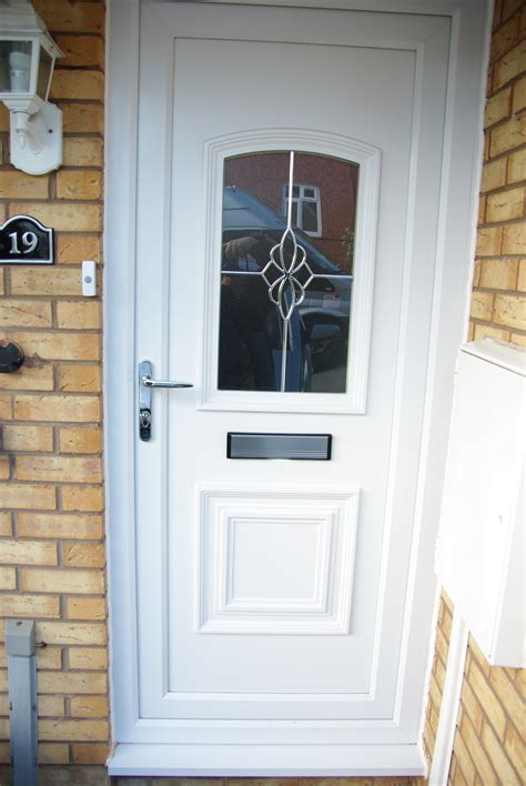 upvc exterior door upvc white front door m a home improvements