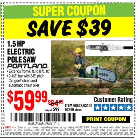 Promo 5 Free 1 harbor freight tools coupon database free coupons 25 percent coupons toolbox coupons 1