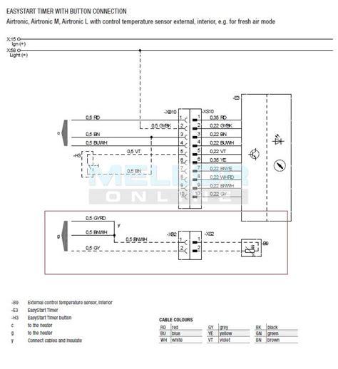 webasto 7 day timer wiring diagram efcaviation