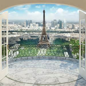 Wall Murals Eiffel Tower Walltastic Eiffel Tower In Wallpaper Mural 43589