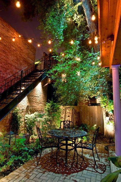 Lights In Backyard by Outdoor Magic How To Decorate With Lights
