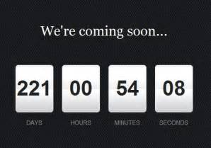 Beautiful jquery countdown timer plugin free jquery plugins