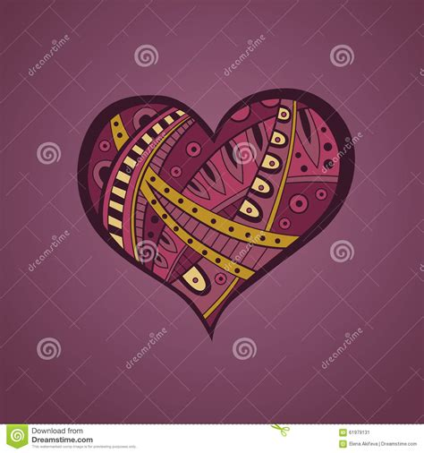 yellow heart pattern abstract pink yellow heart pattern illustration stock