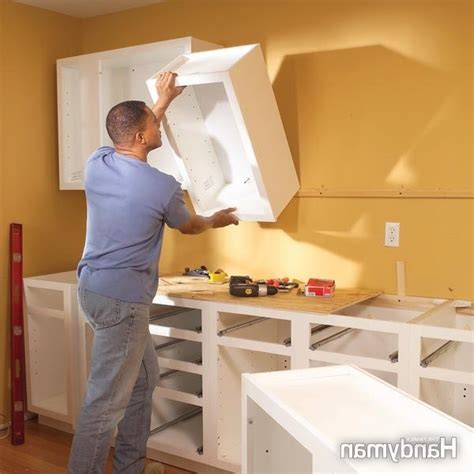 how to install kitchen cabinets yourself how to replace kitchen cabinets yourself