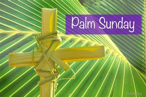 palm sunday easter lent catholic online