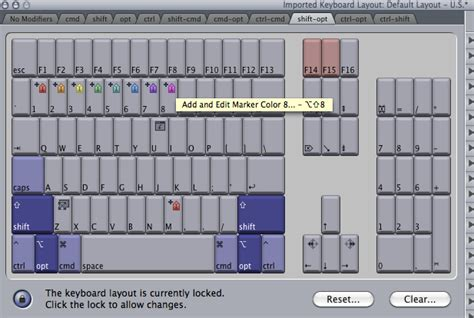 keyboard layout qt quicktips 2011 day 08 add and edit markers in fcp 7 for
