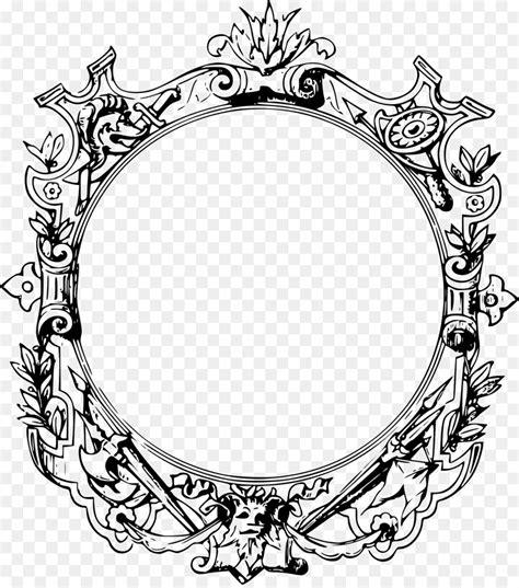 picture frames ornament clip art filigree