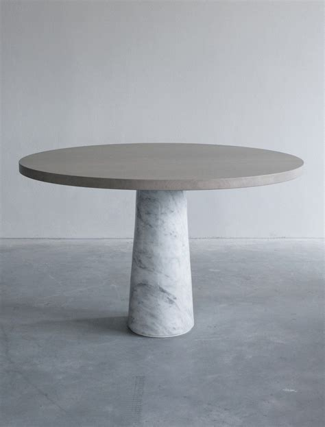 Marble Base Dining Table Dining Table With Carrara Marble Base Eetkamertafel Met Carrara Marmeren Onderstel