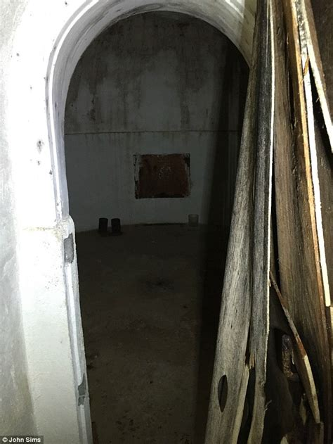 bomb shelter found in backyard arizona man finds cold war fallout shelter underneath his backyard daily mail online