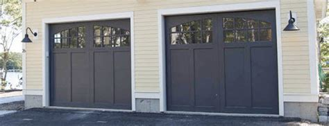 signature carriage wood garage doors