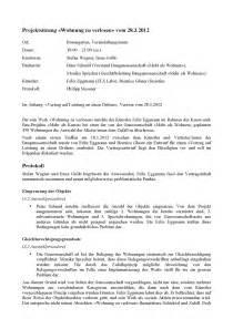 Muster Protokoll Protokoll Der Projektsitzung 171 Wohnung Zu Verlosen 187 Vom 28 3 2012 Mehr Als Kunst