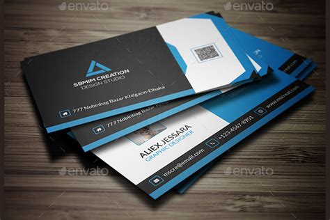 cool business card templates photoshop 40 business card design templates free premium sles