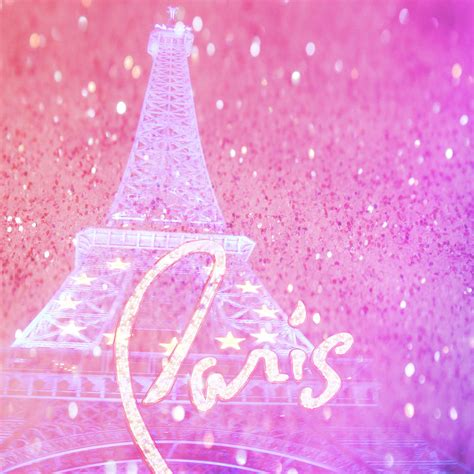 French Home Decor by Paris Pink Digital Art By Veronica Ventress