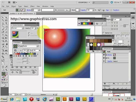 tutorial illustrator cs4 tutorial illustrator cs5 cs4 gradients color guide