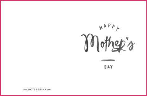 mothers day card template s day card template bio letter format