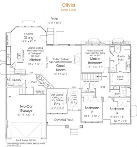 dreamsource home plans nelson homes preston floor plan house design plans