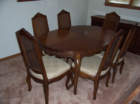 Drexel Heritage Dining Room Furniture A Drexel Heritage Dining Room Set To Sell Country Stressed Ch My Antique